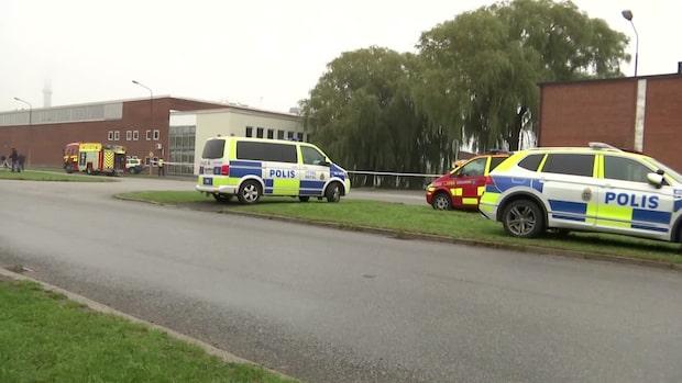 Explosiva ämnen på bilfirma i Malmö