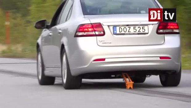 Se hur bilen laddas – samtidigt som den kör