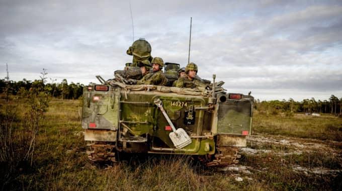 Flertalet fall har registrerats de senaste veckorna där misstänkta ryska spioner har gått fram till soldater ur samtliga förband på Gotland. Foto: Alex Ljungdahl