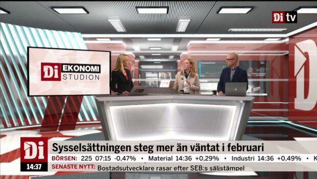 Ekonomistudion – 20 mars 2018