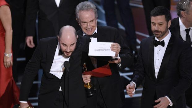 Oscarsfiaskot: Fel vinnare lästes upp