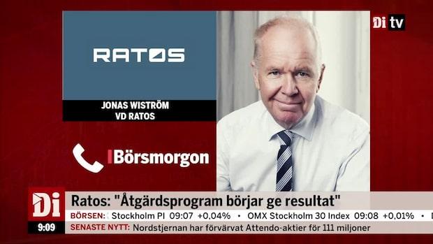"""Ratos: """"Åtgärdsprogram börjar ge resultat"""""""