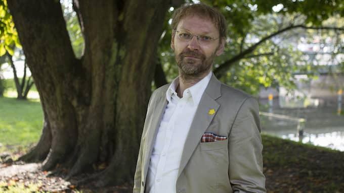 Mats Lövgren, samordnare för nätverket Stoppa Västlänken Nu. Foto: JONAS TOBIN