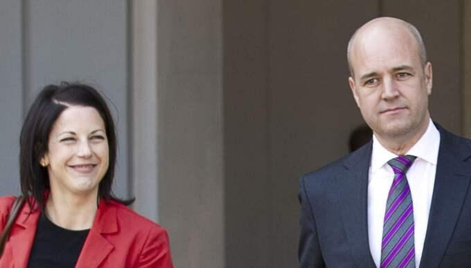 I dag bekräftar förra statsministern Fredrik Reinfeldt, 49, för Expressen att han och tidigare presschefen i regeringskansliet, Roberta Alenius, 36, inlett en relation. Foto: Roger Vikström
