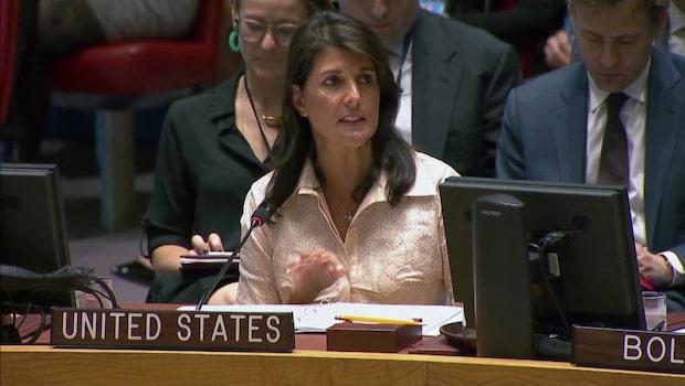 USA lämnar FN:s råd för mänskliga rättigheter