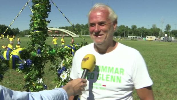 "Glenn Hysén leder midsommarfirandet i Polen: ""Goa gubbar"""
