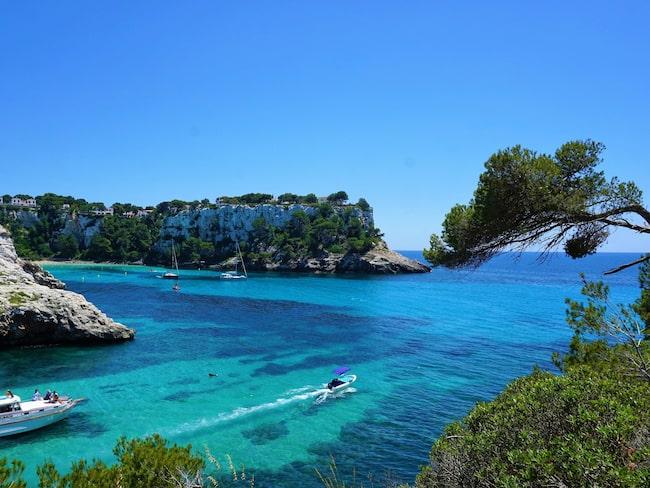 Landskapet på Menorca är närmast pastoralt och hela ön är ett Unesco-klassat biosfärområde.