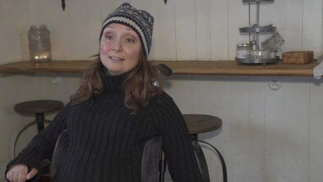 """Annika var 23 år när hon var med om en ridolycka och blev helkroppsförlamad. I sin bok """"Ända in i märgen"""" berättar hon om vägen tillbaka till livet."""