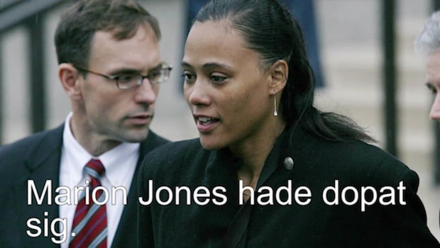 Marion Jones erkände doping 2007
