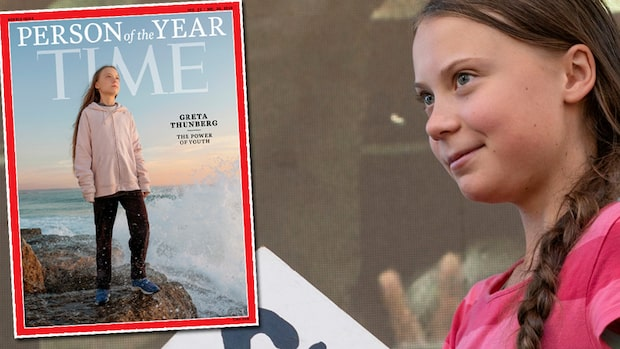 "Greta Thunberg är ""Årets person 2019"" – enligt Time magasin"