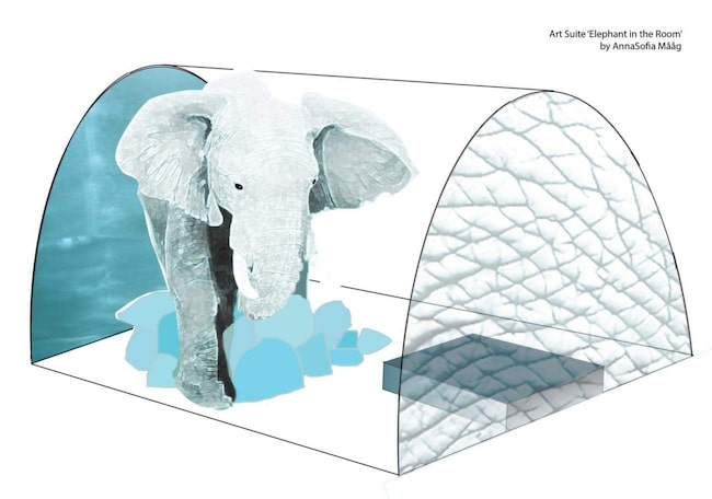 <span>En av sviterna kommer att rymma en fyra meter hög elefant.</span>