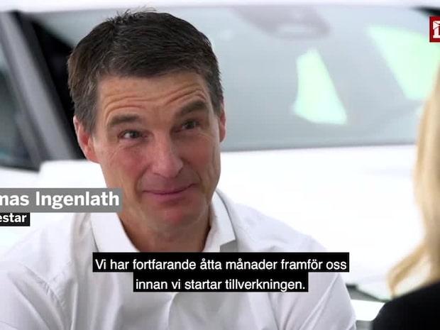 """Förväntad produktion av Polestar 2: """"Omkring 10 000 bilar"""""""