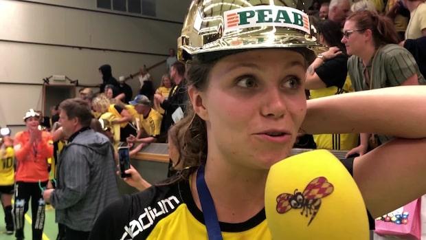 """Olivia Mellegård: """"Underbart att vi lyckas vinna"""""""