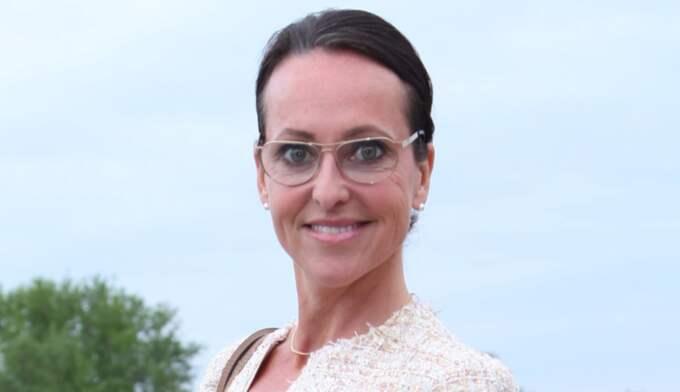 Tanja Fylking berättar om sin nya relation med affärsmannen Lars Andersson. Foto: Expressen