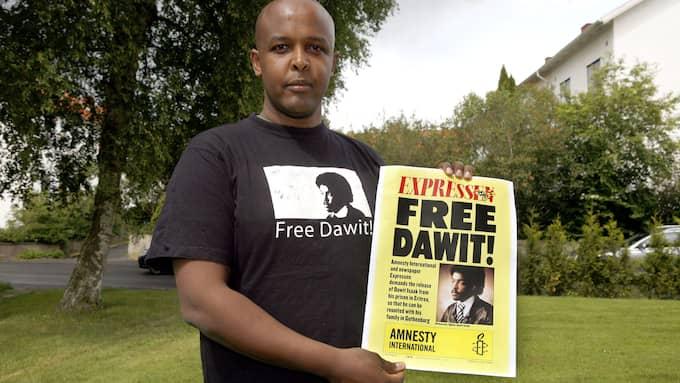 Esayas Isaak, bror till Dawit Isaak. Foto: JAN WIRIDEN / GT/EXPRESSEN