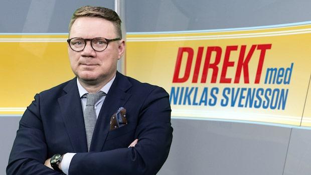 Direkt med Niklas Svensson onsdag 13 november – se hela programmet