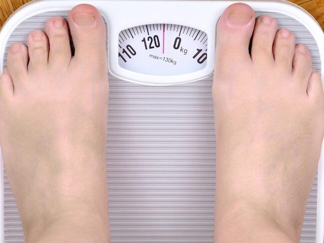 När det var som värst vägde Cathrine dryga 133 kilo.