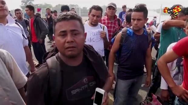 Här stänger Mexiko gränsen mot Guatemala