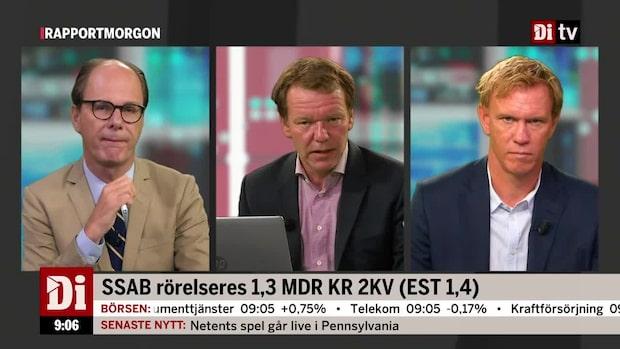 Analytikern om Saab: Det är en rapport som slår marknadens bedömningar