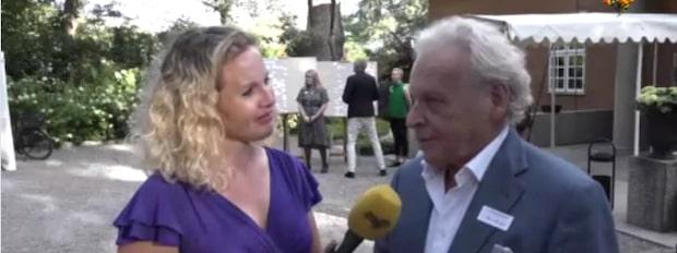 """Herman Lindqvist: """"Haft givande samtal med kungen och Victoria"""""""